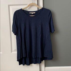 Loft A-line t-shirt bundle size L